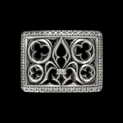 Aywood Silver Buckle