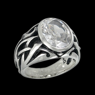Silver Pater Ring