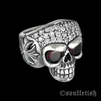 SoulFetish Luxe Skull Ring