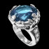 Blue Fortune Queen Ring