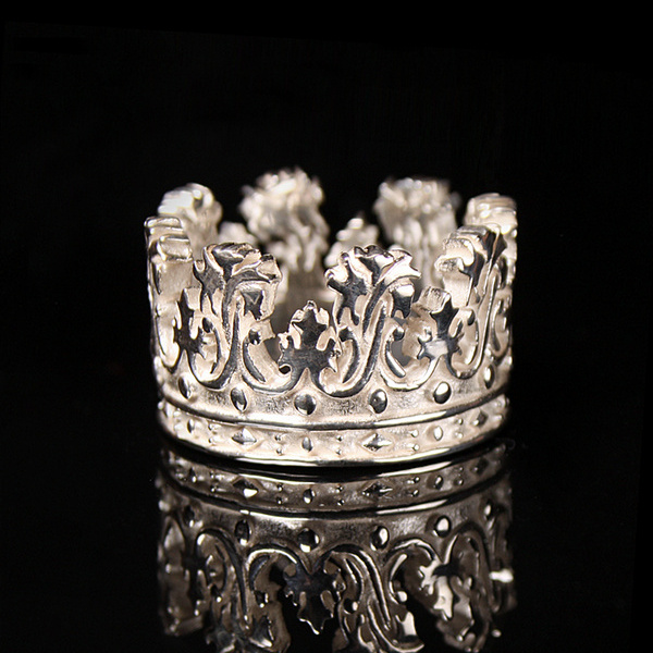 Floral Crown Band Ring