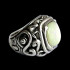 Snow Class Silver Ring