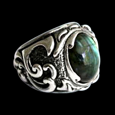 Fortress Silver Ring