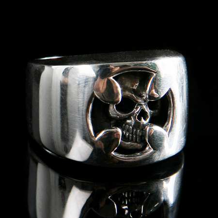 Blaze Iron Cross Ring