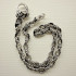 Silver Flame Wallet Chain
