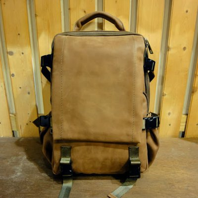 Leather Backpack Warrior 23