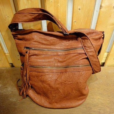 W Soft Breeze Leather Bag