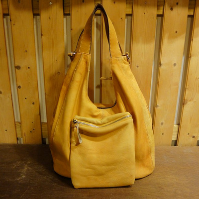W Sunshine Leather Handbag