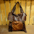 W Brown Leather Sack