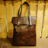 W Woods Leather Bag