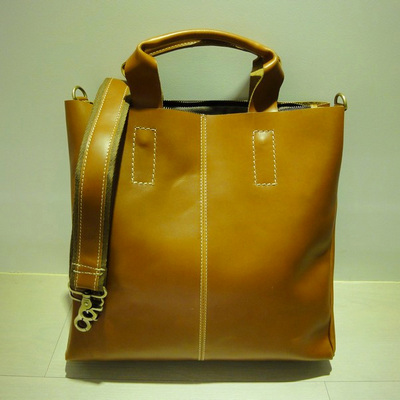 W Scotch Leather Tote