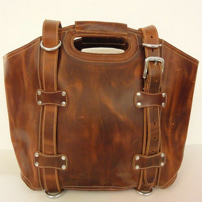Dove Road XL Leather Bag