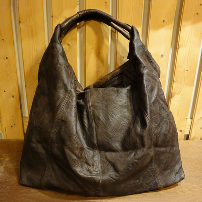 W Leather Downtown Bag