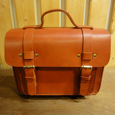 Saddle Leather Box No.8