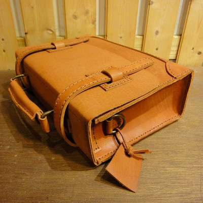 Saddle Box Leather Messenger No.9