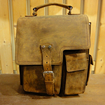 Western Leather Messenger