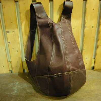 Metro Leather Cowboy Backpack