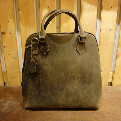 W Brown Leather Purse