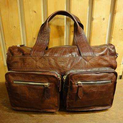 W Traveler B-Leather Bag