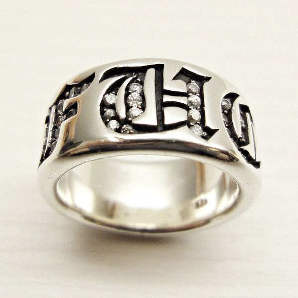 F*CK Silver Band Ring