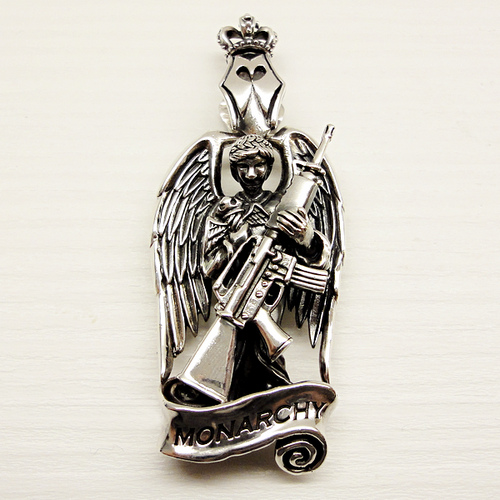 Monarchy Angel M-16 Pendant