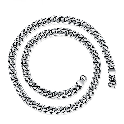 Curb Link Neck Chain 21in