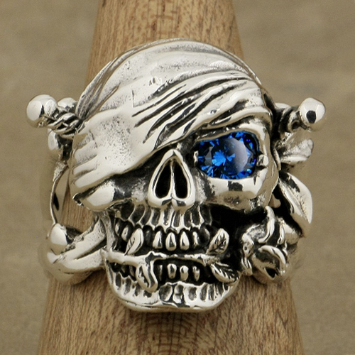 Romance Pirate Skull Ring
