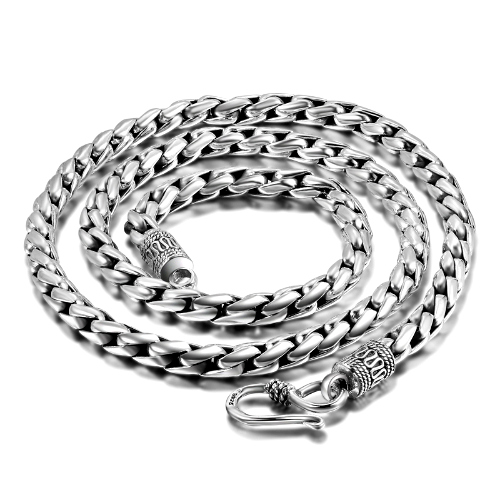 Silver Geo Rope Chain